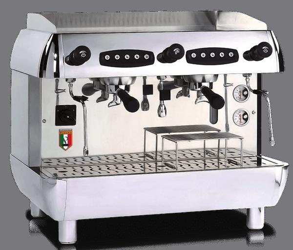 Pierro Platinum Silouhette Commercial Coffee Machine Hire S