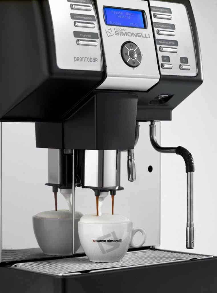 Commercial Automatic Coffee Maker ~ Nuova simonelli pronto commercial automatic coffee machine