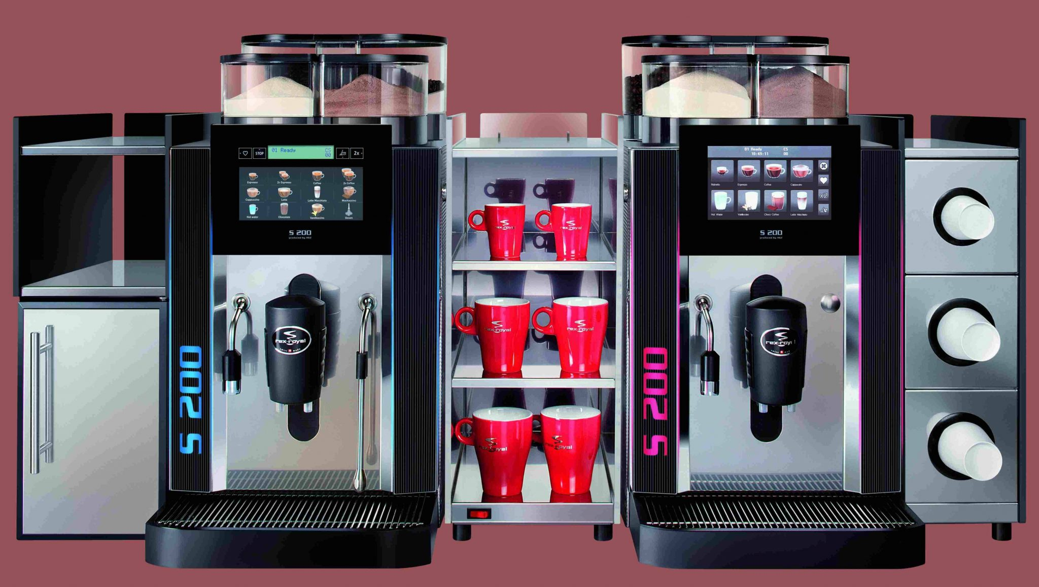 Commercial Automatic Coffee Machines Commercial Coffee