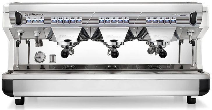 Nuova Simonelli Appia ii 3 Group Commercial Coffee Machine from Italy
